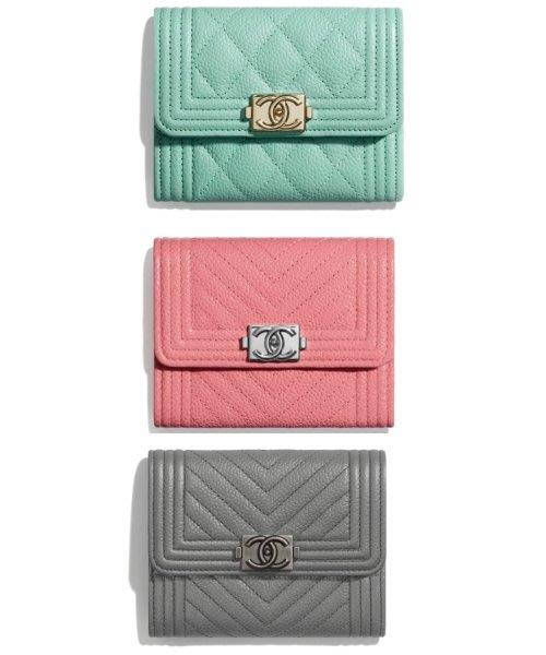 【英國連線代購】Chanel BOY CHANEL Flap Coin Purse 卡包 零錢包   免運中