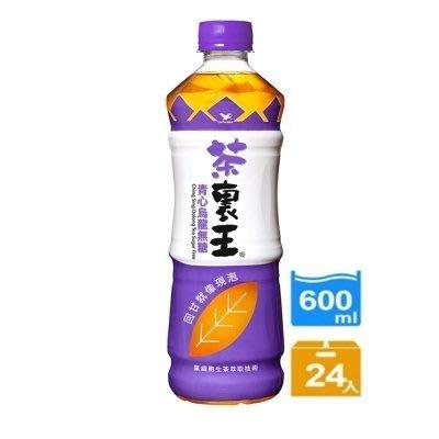統一茶裏王青心無糖烏龍茶(600mlx24入)