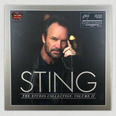 [英倫黑膠唱片Vinyl LP] 史汀/歷年專輯套裝 2  Sting/ The Studio Collection 2