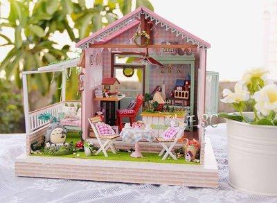 【酷正3C】DIY小屋 袖珍屋 娃娃屋 手工藝 模型屋 禮物 童話森林  夢幻樂園
