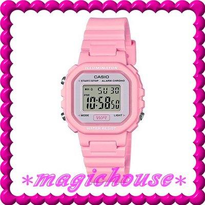 *夢幻精品屋*CASIO原廠公司貨~10年電池兒童電子錶LA-20WH-4A1