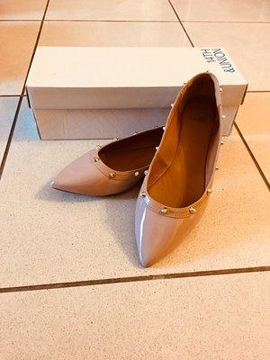 [全新特價]14th&union kiana flats 8.5號裸色寬楦尖頭平底鞋,全新出售!!