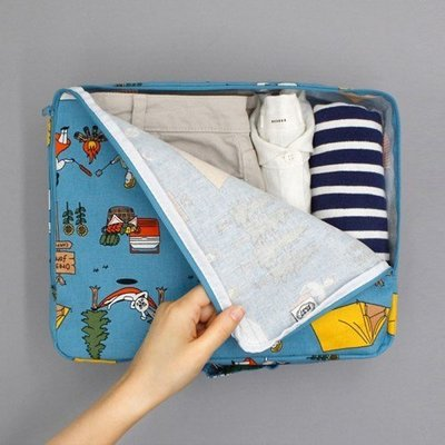 ❅PAVEE❅ 韓國oohlala~Travel Multi Pouch L 異想世界 旅行衣物收納包/收納袋