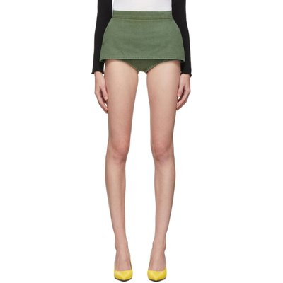 Pushbutton 裙擺式 短褲