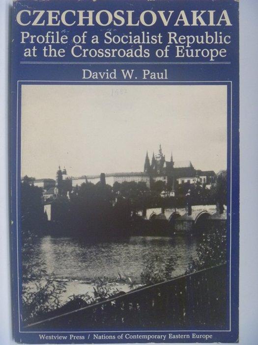 【月界】Czechoslovakia:Socialist Republic...of Europe 〖大學社科〗AKV