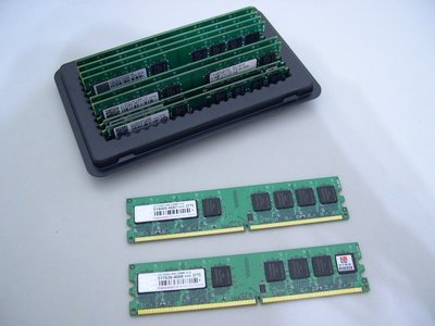 創見 Transcend DDR2 800 2G × 2 雙通道 終身保固 記憶體(RAM 667 2GB 金士頓) 台中市