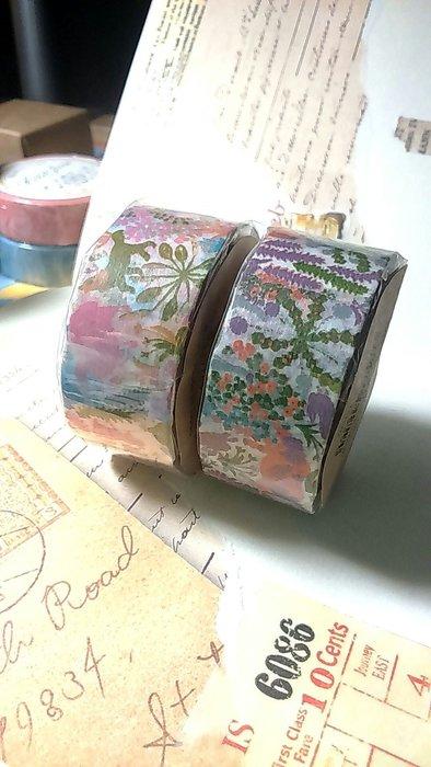 【R的雜貨舖】紙膠帶分裝 倉敷意匠和紙膠帶-  MIHANI工房和紙膠帶_牧場