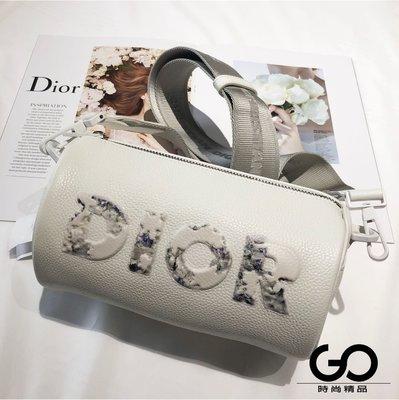 【GO時尚國際精品】DIOR頂級小牛皮圓筒包 全新 正品