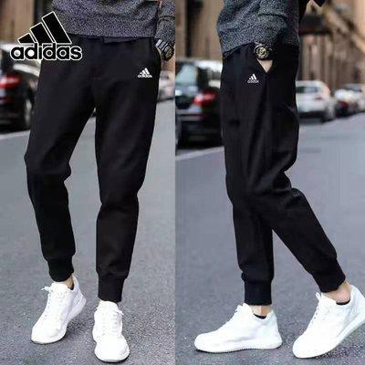 現貨 Adidas 3769 長褲 束口褲 男女款 情侶款 愛迪達運動褲 褲子 長褲 休閒褲 慢跑褲