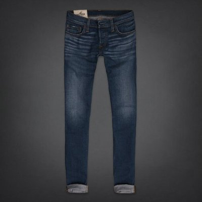 Hollister Super Skinny Jeans Dark Wash 超合身水洗牛仔褲 A&F zara ape