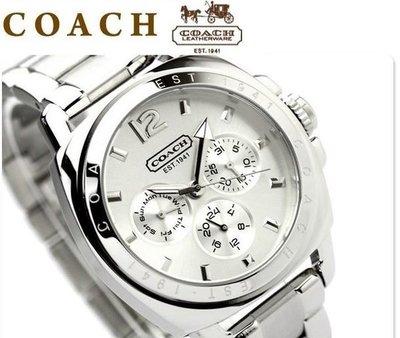 ㊣國際品牌COACH庫㊣ 美國代購14501213 14501212 潮流商務時尚手錶經典女士百搭款 ~美式時尚精剛女錶