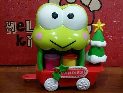 2012年香港7-11 Hello Kitty & Friends甜品系列 聖誕版- 大眼蛙糖果店列車版