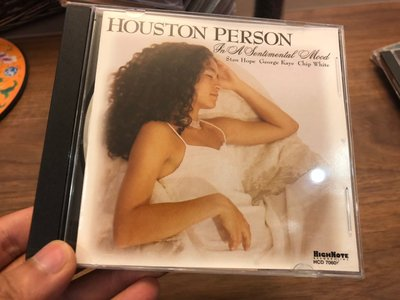 HOUSTON PERSON IN A SENTIMENTAL MOOD 休士頓·派森 hcd 無刮痕 cd