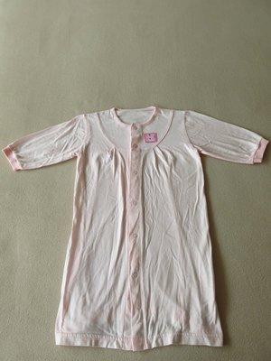 愛的世界  嬰兒連身裝 兔裝  女寶寶長袖 底部未封口    6 month