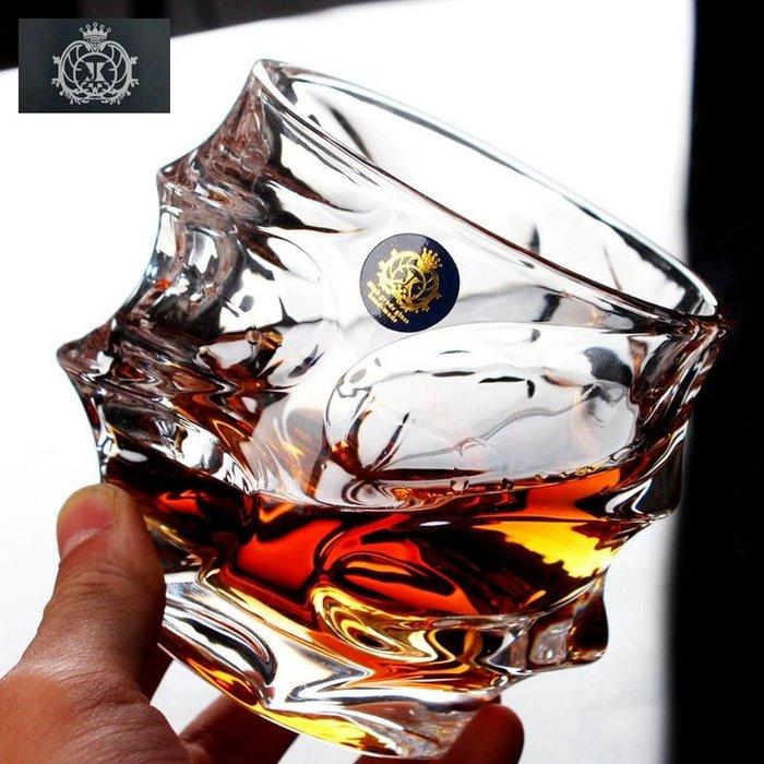 聚吉小屋 #歐式復古玻璃酒杯 特色洋酒杯烈酒杯啤酒杯水晶威士忌酒杯水杯