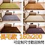 200*160cm絲毛地毯  防滑地毯 長毛款 瑜珈地...