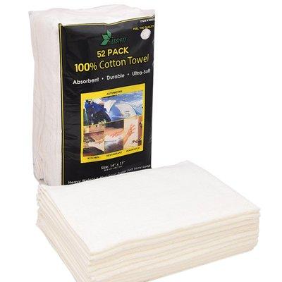 【小如的店】COSTCO好市多線上代購~Green Lifestyle 100%純棉抹布(每組52條)