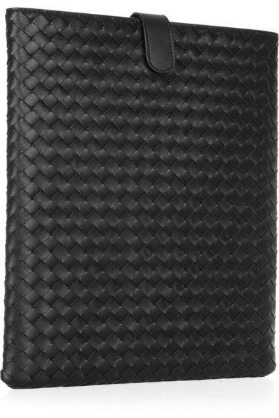 715aecf627e3 Bottega Veneta 257469 Intrecciato Nappa Ipad Case 編織iPad 套黑現貨