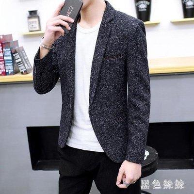 大碼西裝外套 男士休閒西裝外套新款韓版潮流修身小西服男帥氣裝上衣 qf17628
