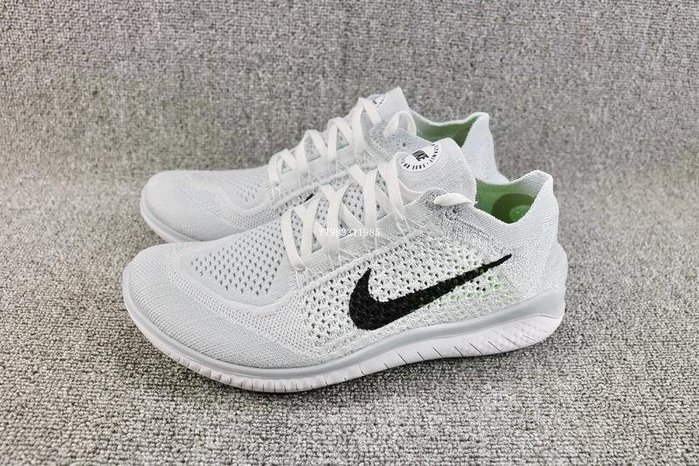 Nike FREE RN FLYKNIT 全白 百搭 編織 輕量 慢跑鞋 男女鞋 942838-100