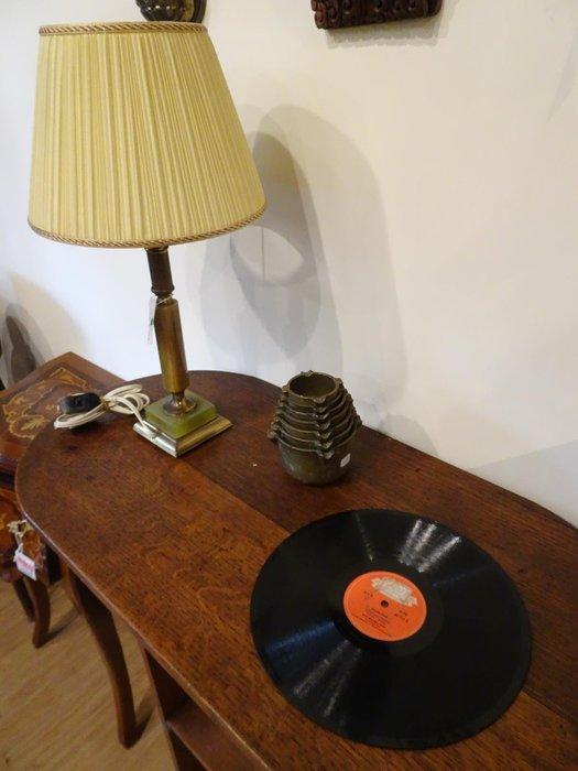 【卡卡頌 歐洲跳蚤市場/歐洲古董】德國polydor_十吋78轉 德語老歌黑膠唱片