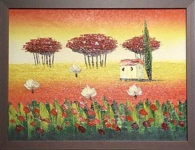 【松風閣畫廊】#油畫 #純手繪  34 x 45m /t200247u