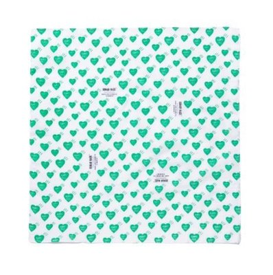☆AirRoom☆【現貨】HUMAN MADE PARCO HEART BANDANA 綠愛心 方巾 手帕