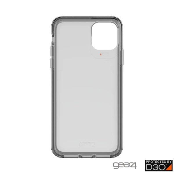 超 蘋果 Gear4 Hampton iPhone 11 Pro Max 6.5吋 霧透黑防摔保護殼 iPhone 公司
