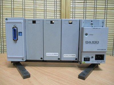 康榮科技二手儀器Yokogawa DA100+DT300-11 Data Acquisition Unit+GPIB