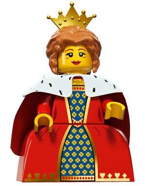 現貨【LEGO 樂高】積木/ Minifigures人偶系列: 15 代人偶包抽抽樂 71011   皇后 Queen