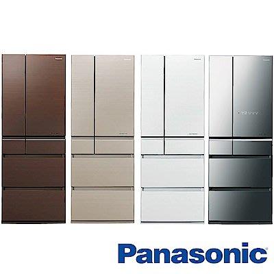 【免卡分期】Panasonic國際牌 600L 1級變頻6門電冰箱 NR-F604HX 日本原裝 全新商品