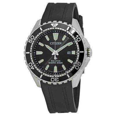 【換日線】男錶 Citizen Promaster Diver Black Dial Mens Watch BN0190-07E