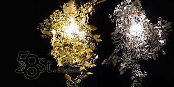 【58街】義大利設計師款式「花朵剪影吊燈」複刻版。GH-200