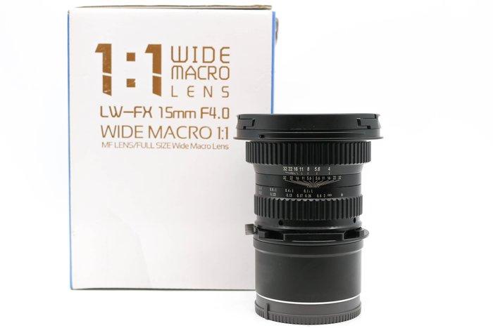 【高雄青蘋果3C】老蛙 LAOWA 15mm F4 WIDE MACRO E接環 手動鏡 二手鏡頭 #38883