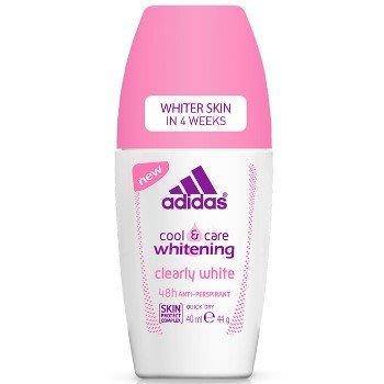 Adidas 愛迪達女用制汗香體滾珠-美白潔淨 40ml《四季花蕊》 高雄市