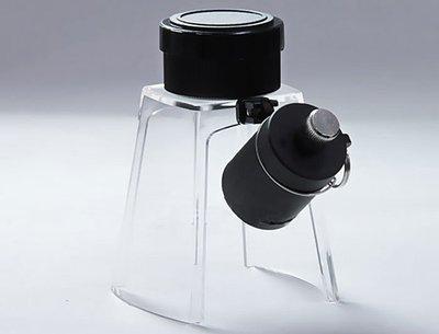 【日本 I.L.K.】KenMAX 日本製加倍鏡LED照明底座 KM-1LED