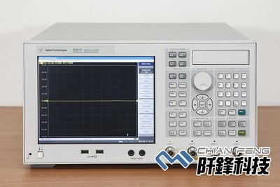 【阡鋒科技 專業二手儀器】安捷倫 Agilent E5071C 4port 8.5GHz 網路分析儀