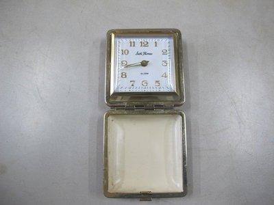 二手舖 NO.1145 古董發條小時鐘 盒裝 鬧鐘