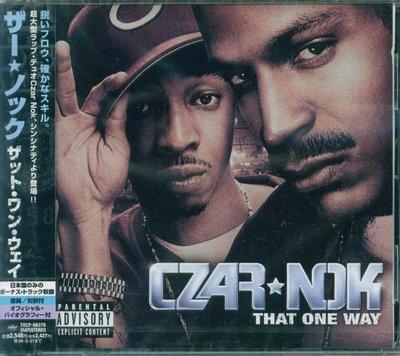 K - Czar-Nok - That One Way - 日版+1BONUS - NEW