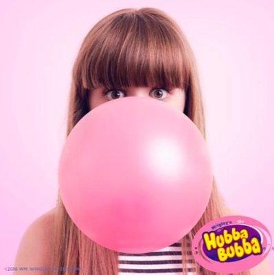美國HUBBA BUBBA BUBBLE TAPE泡泡糖膠帶浮誇口香糖 原味粉紅4捲330元 畢業禮物 美國糖果