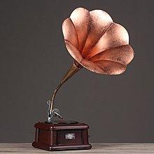 〖洋碼頭〗美式黑膠唱機模型復古留聲機擺件工藝品客廳擺設軟裝飾品創意禮品 hbs161