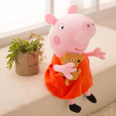 花花手作材料~30公分的佩佩豬