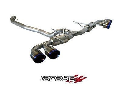 日本 Tanabe Medalion Touring 排氣管 Nissan GT-R R35 07+ 專用