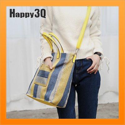 帆布包托特包大容量質感環保袋手提包斜背...
