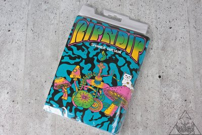 【HYDRA】Ripndip Psychedelic Shower Curtain 浴簾【RNP076】