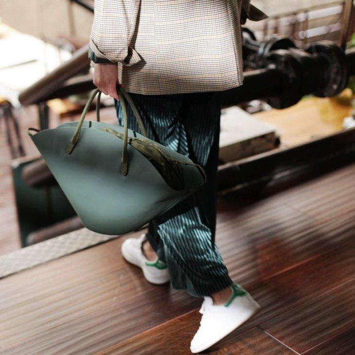 原創設計師小眾輕奢扇形手提包大包氣質女神2019新款潮大氣手拎包