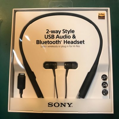 索尼 SONY 2-way Style USB Audio & Bluetooth Headpset 藍芽耳筒 無線耳機 NFC Wireless SBH90C