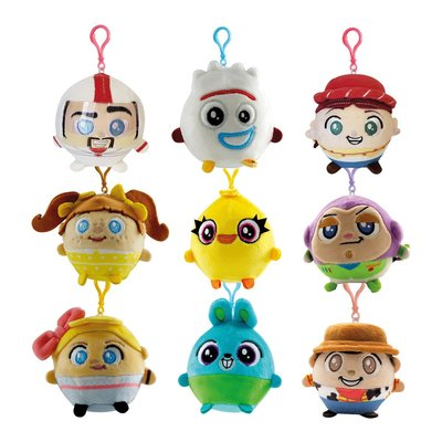SQUEEZE 軟軟絨毛 迪士尼 玩具總動員4 款式隨機出貨1個 現貨代理(刷卡請告知另開賣場)