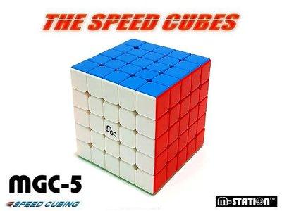 "M-STATION ""Y5M.永駿MGC磁力速解彈簧5×5×5魔術方塊""免貼紙超強容錯功能(免運費)"