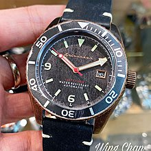 英國品牌 SPINNAKER 自動皮帶手錶 日本機芯 SP-5065-04 殘古銅色 舊化外圈
